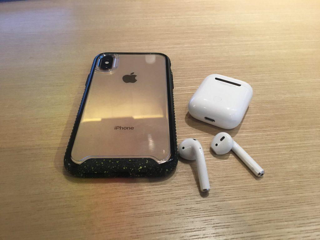 iPhone XSとAir Pods