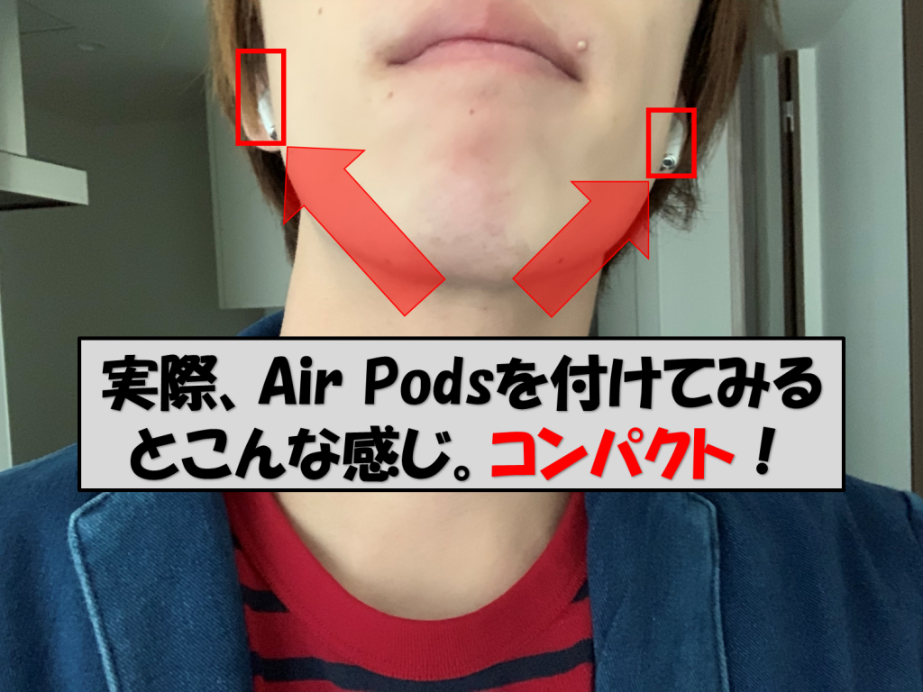 Air Pods装着
