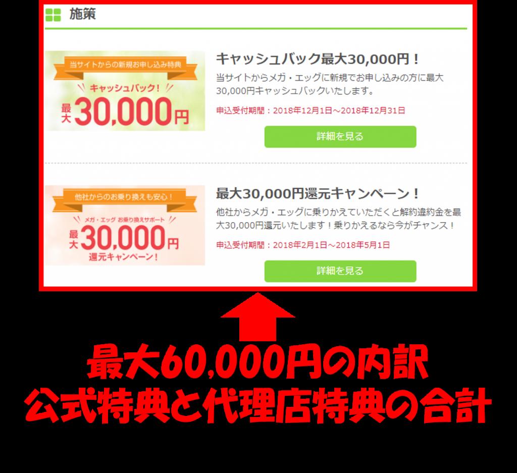 最大60,000円内訳