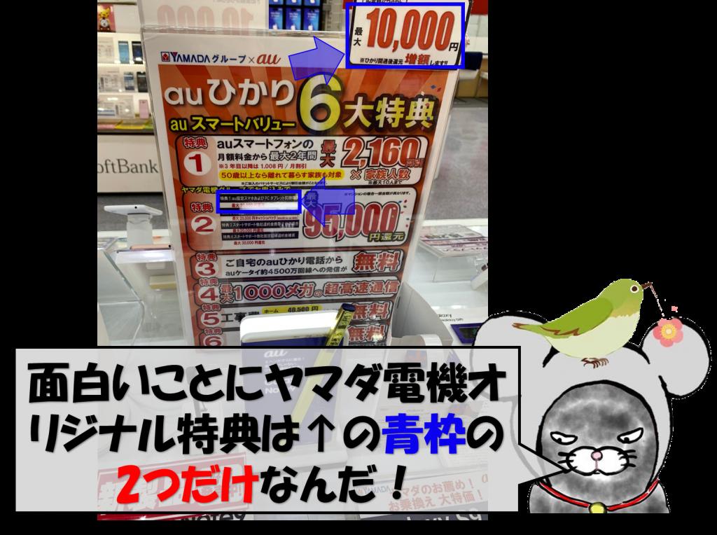 ヤマダ電機独自キャンペーン