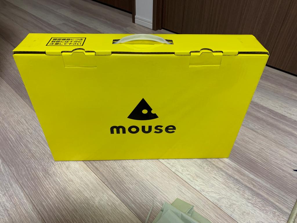 マウスコンピューター箱