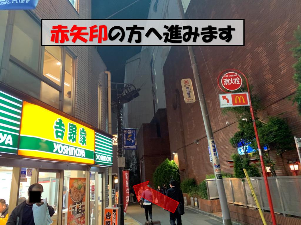 町田駅からの道順