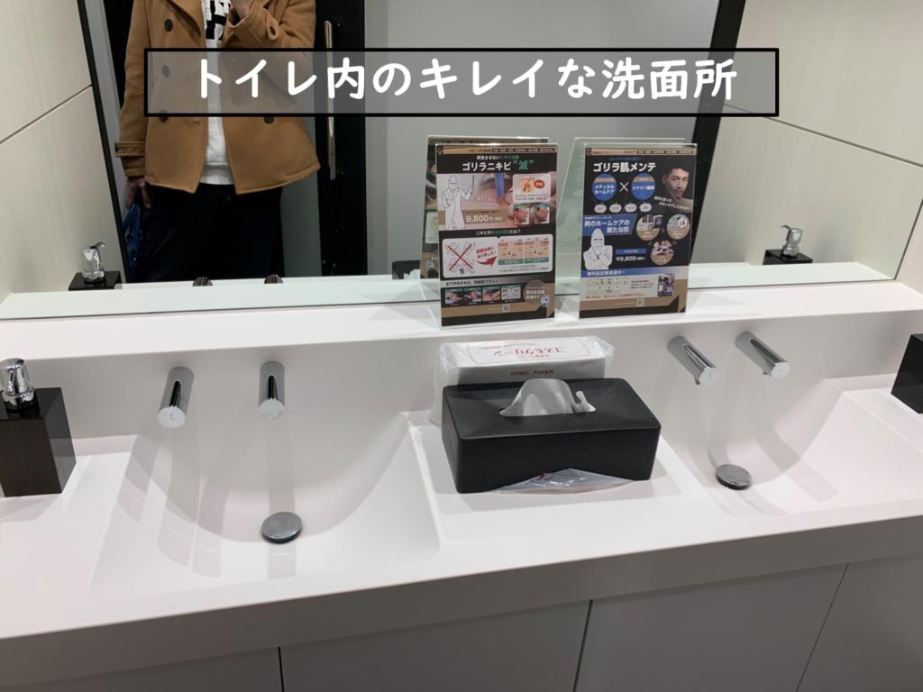 10階トイレ内洗面所